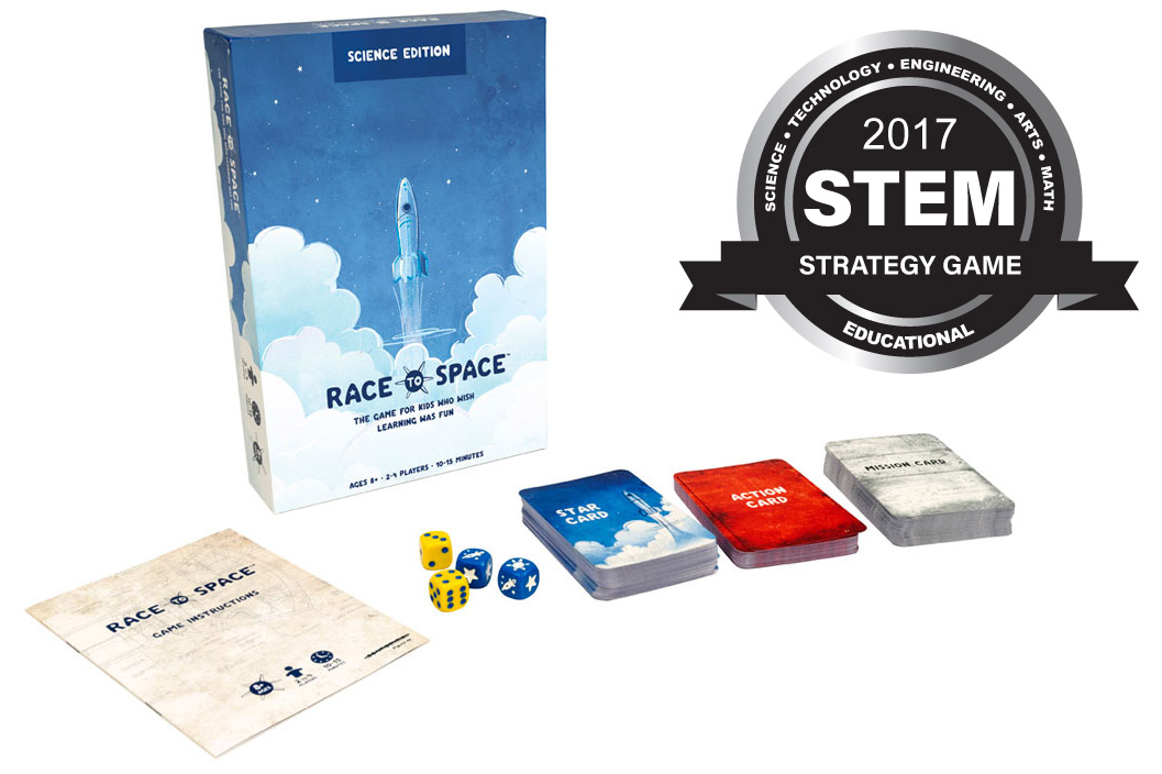 race to space Race into space a free software version of the liftoff board game by fritz bronner, originally developed by strategic visions and published by interplay in 1993 and.